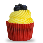 Lemon-Blueberry_Cupcake