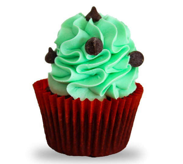 Mint-chocolate_Cupcake